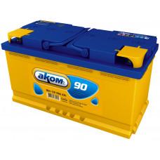 Аккумулятор АКОМ  90 Ач, 780 А, прямая полярность ⁵