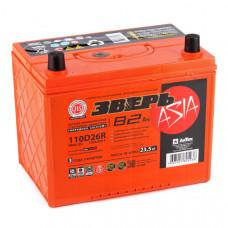 Аккумулятор ЗВЕРЬ Asia  82 Ач, 750 А (110D26L), обратная полярность ²