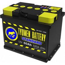Аккумулятор TYUMEN BATTERY (ТЮМЕНЬ) STANDARD  60 Ач, 520 А Ca/Ca, прямая полярность ¹