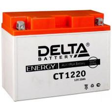 Аккумулятор DELTA CT 12В 20 Ач, 250 А (CT 1220), обратная полярность ⁶