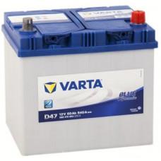 Аккумулятор VARTA Asia Blue Dynamic 60 Ач, 540 А (D47 ), обратная полярность ²