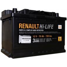 Аккумулятор RENAULT  70 Ач, 720 А, обратная полярность ¹