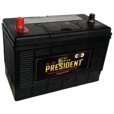 Аккумулятор SUPER PRESIDENT  105 Ач, 1000 А (31-1000), американская полярность ¹