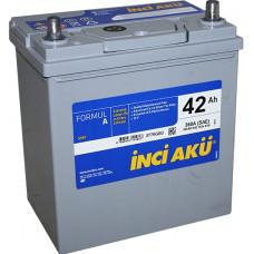 Аккумулятор INCI AKU Asia FormulА 45 Ач, 400 А (55B24L), обратная полярность, тонкие клеммы ¹