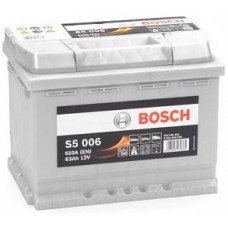 Аккумулятор BOSCH S5 63 Ач, 610 А, прямая полярность ²