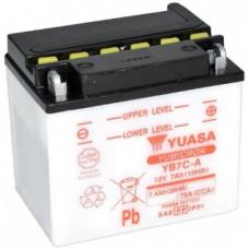 Аккумулятор GS YUASA  12В 8 Ач (YB7C-A), обратная полярность ⁶