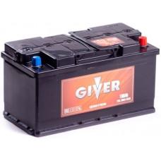 Аккумулятор GIVER HYBRID 100 Ач, 820 А, обратная полярность ²