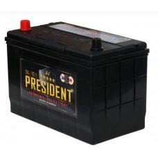 Аккумулятор SUPER PRESIDENT Asia  90 Ач, 750 А (105D31L), обратная полярность, АКЦИЯ ¹