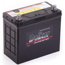Аккумулятор DELKOR Asia  55 Ач, 480 А (70B24RS), прямая полярность, толстые клеммы ²