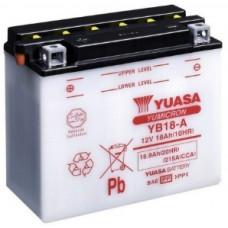 Аккумулятор GS YUASA  12В 18 Ач (YB18-A), прямая полярность ⁶