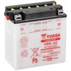 Аккумулятор GS YUASA  12В 9 Ач (YB9L-A2), обратная полярность ⁶