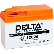Аккумулятор DELTA CT 12В 2 Ач, 45 А (CT 12026), обратная полярность ⁶