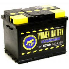 Аккумулятор TYUMEN BATTERY (ТЮМЕНЬ) STANDARD 62 Ач, 550 А, прямая полярность ²