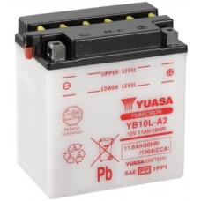 Аккумулятор GS YUASA  12В 11 Ач (YB10L-A2), обратная полярность ⁶