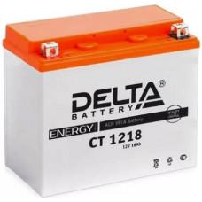 Аккумулятор DELTA CT 12В 20 Ач, 270 А (CT 1218), прямая полярность ⁶
