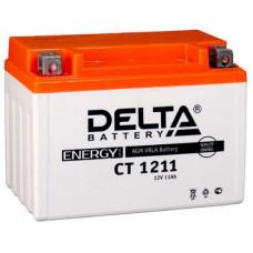 Аккумулятор DELTA CT 12В 11 Ач, 210 А (CT 1211), прямая полярность ⁶