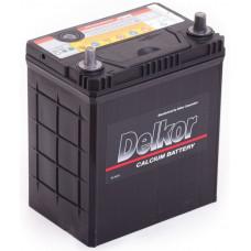 Аккумулятор DELKOR Asia  40 Ач, 370 А (46B19L), обратная полярность, тонкие клеммы ²