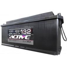 Аккумулятор ACTIVE FROST  132 Ач, 750 А, российская полярность, конусные клеммы ²