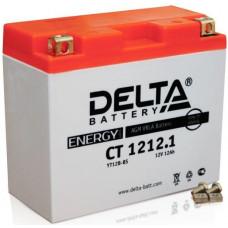 Аккумулятор DELTA CT 12В 12 Ач, 155 А (CT 1212.1), прямая полярность ⁶