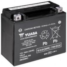 Аккумулятор GS YUASA  12В 18 Ач, 310 А (YTX20HL-BS), обратная полярность ⁶