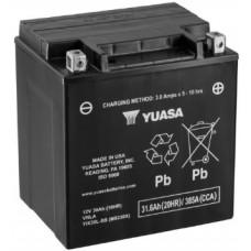 Аккумулятор GS YUASA  12В 30 Ач, 400 А (YIX30L-BS), обратная полярность ⁶