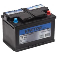 Аккумулятор VEKTOR  75 Ач, 570 А, прямая полярность ²