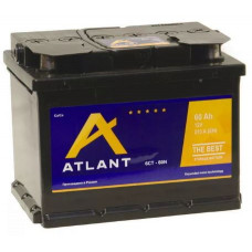 Аккумулятор ATLANT  60 Ач, 510 А, прямая полярность ¹