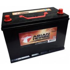 Аккумулятор ASIAN HORSE Asia  95 Ач, 800 А, прямая полярность ²
