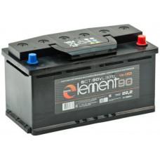 Аккумулятор SMART ELEMENT  90 Ач, 750 А, обратная полярность ²