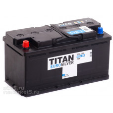 Аккумулятор TITAN Euro Silver 110 Ач, 950 А, обратная полярность ⁵