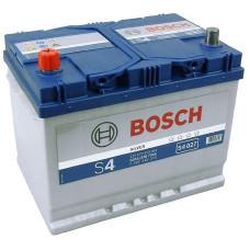 Аккумулятор BOSCH Asia S4 Silver 70 Ач, 630 А (570412), прямая полярность, нижний борт ¹