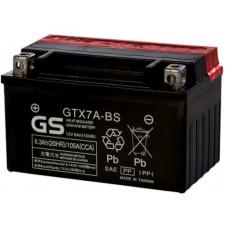 Аккумулятор GS YUASA  12В 6 Ач, 105 А (GTX7A-BS) AGM, прямая полярность, сухо-заряженный, с электролитом ¹