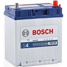 Аккумулятор BOSCH Asia S4 40 Ач, 330 А, обратная полярность, тонкие клеммы, нижний борт ²