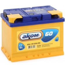Аккумулятор АКОМ  60 Ач, 520 А, обратная полярность ¹