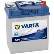 Аккумулятор VARTA Asia Blue Dynamic 40 Ач, 330 А (A14), обратная полярность, тонкие клеммы ¹