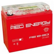 Аккумулятор RED ENERGY RE 12В 20 Ач, 270 А (RE 12201) GEL ⁶