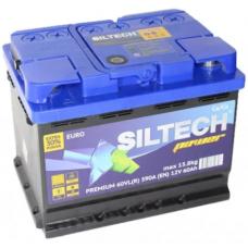 Аккумулятор SILTECH POWER 60 Ач, 590 А, обратная полярность ¹
