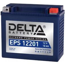 Аккумулятор DELTA EPS 12В 20 Ач, 310 А (EPS 12201), обратная полярность ⁶