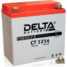 Аккумулятор DELTA CT 12В 14 Ач, 200 А (CT 1214), прямая полярность ⁶