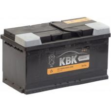 Аккумулятор KBK  100 Ач, 800 А, обратная полярность ²