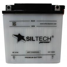 Аккумулятор SILTECH DC 12В 10 Ач, 100 А (12N9-3B), обратная полярность, сухо-заряженный, с электролитом ¹