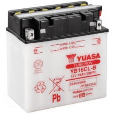 Аккумулятор GS YUASA  12В 16 Ач (YB16CL-B), обратная полярность ⁶