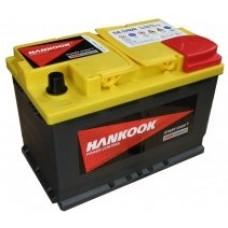 Аккумулятор HANKOOK Plus 70 Ач, 760 А (SA 57020) AGM, Start-Stop, обратная полярность ²