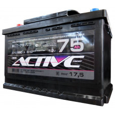 Аккумулятор ACTIVE FROST  75 Ач, 560 А, обратная полярность ²
