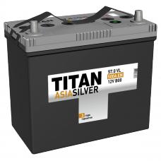 Аккумулятор TITAN Asia SILVER 57 Ач, 500 А, прямая полярность ⁵