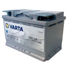 Аккумулятор VARTA Silver Dynamic 70 Ач, 760 А (E39) AGM, обратная полярность ¹
