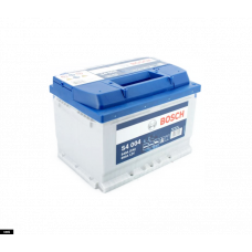 Аккумулятор BOSCH S4 Silver 60 Ач, 540 А (560127), прямая полярность ¹