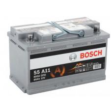 Аккумулятор BOSCH S5 80 Ач, 800 А (580901080) AGM, обратная полярность ²