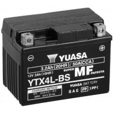 Аккумулятор GS YUASA  12В 3 Ач, 50 А (YTX4L-BS), обратная полярность ⁶