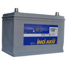 Аккумулятор INCI AKU Asia FormulА 100 Ач, 760 А (115D31L), обратная полярность, нижний борт ¹